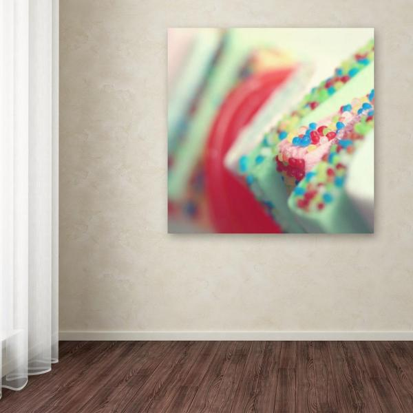 Trademark Fine Art 18 in. x 18 in. ''Party Flavours'' by