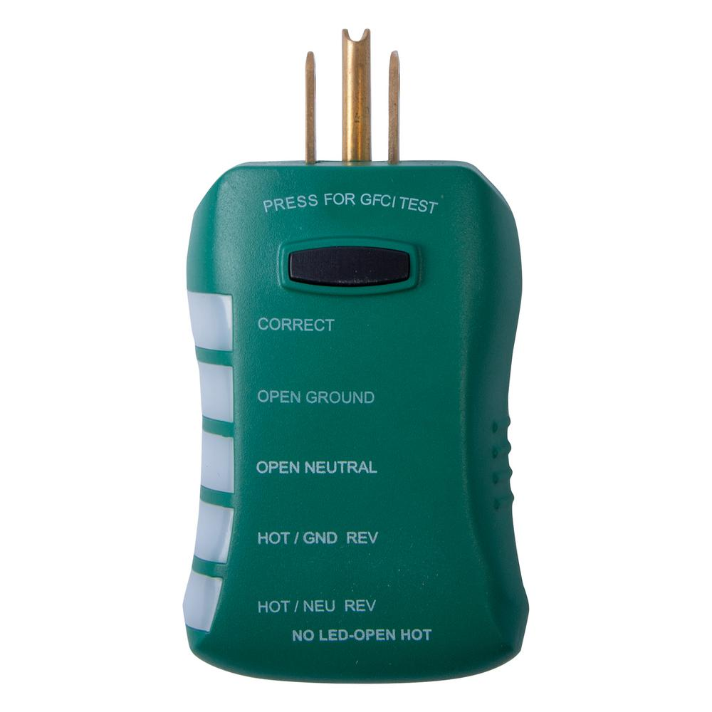 Brilliant Commercial Electric Gfci Outlet Circuit Analyzer Tester Ce Gfi6500 Wiring Digital Resources Lavecompassionincorg