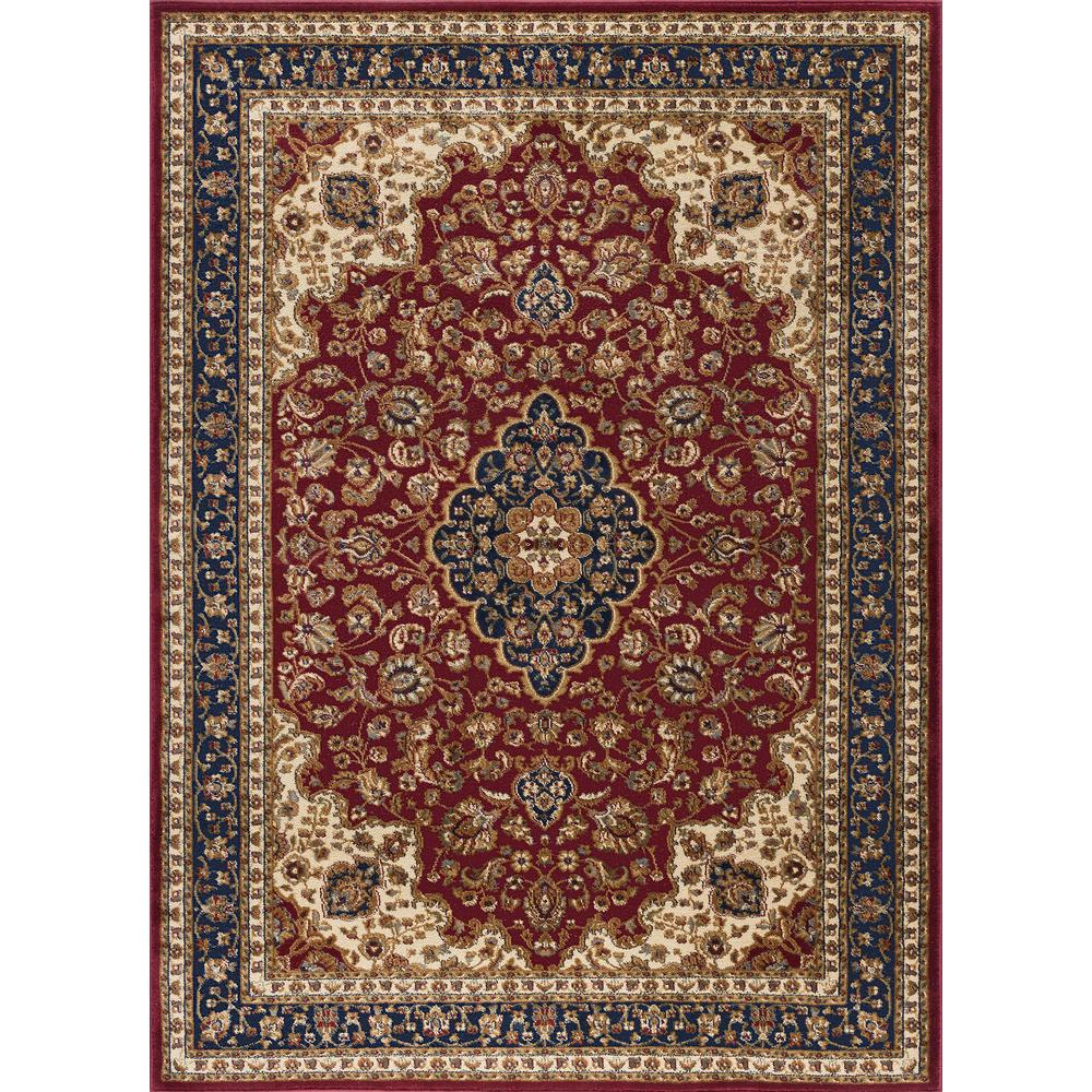 tayse rugs sensation red 11 ft x 15 ft transitional area rug sns4780 11x15 the home depot. Black Bedroom Furniture Sets. Home Design Ideas