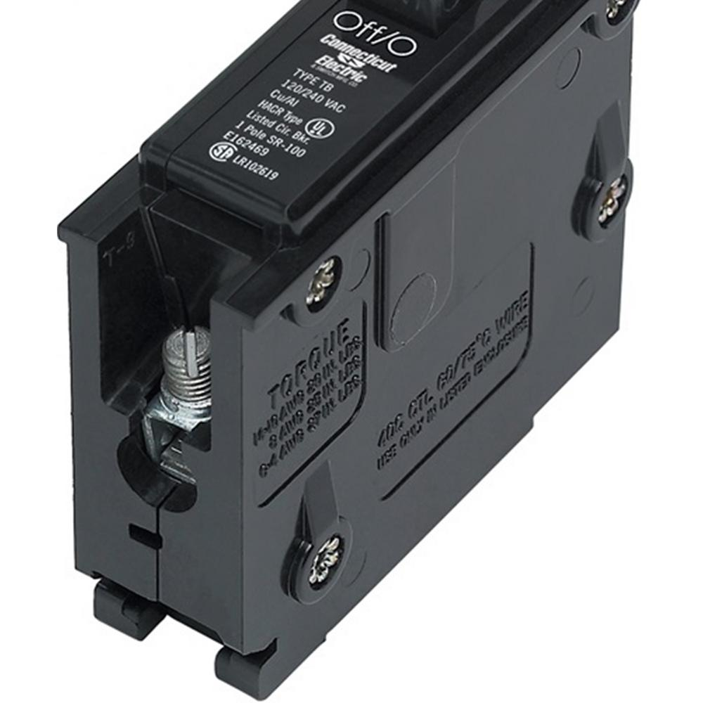50 Amp 1-Pole Circuit Breaker Type TB
