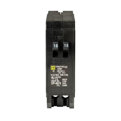 Dusty but NEW! square d DP-4075 25 amp breaker 2pole