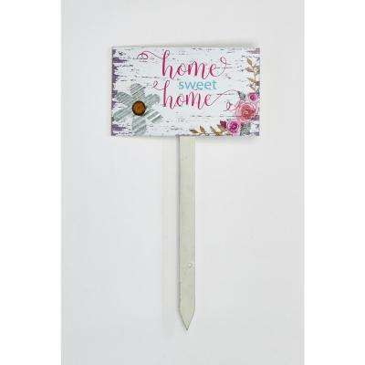 30 in. Home Sweet Home Garden Stake (2-Set)