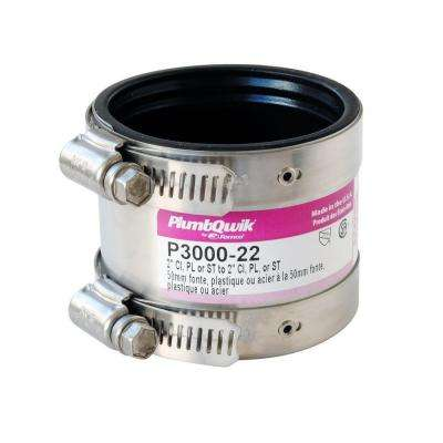 Proflex 2 in. Neoprene Shielded Coupling