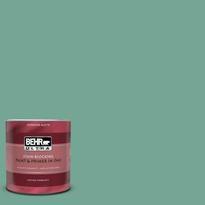 1 qt. #MQ6-38 Patina Matte Interior Paint and Primer in One