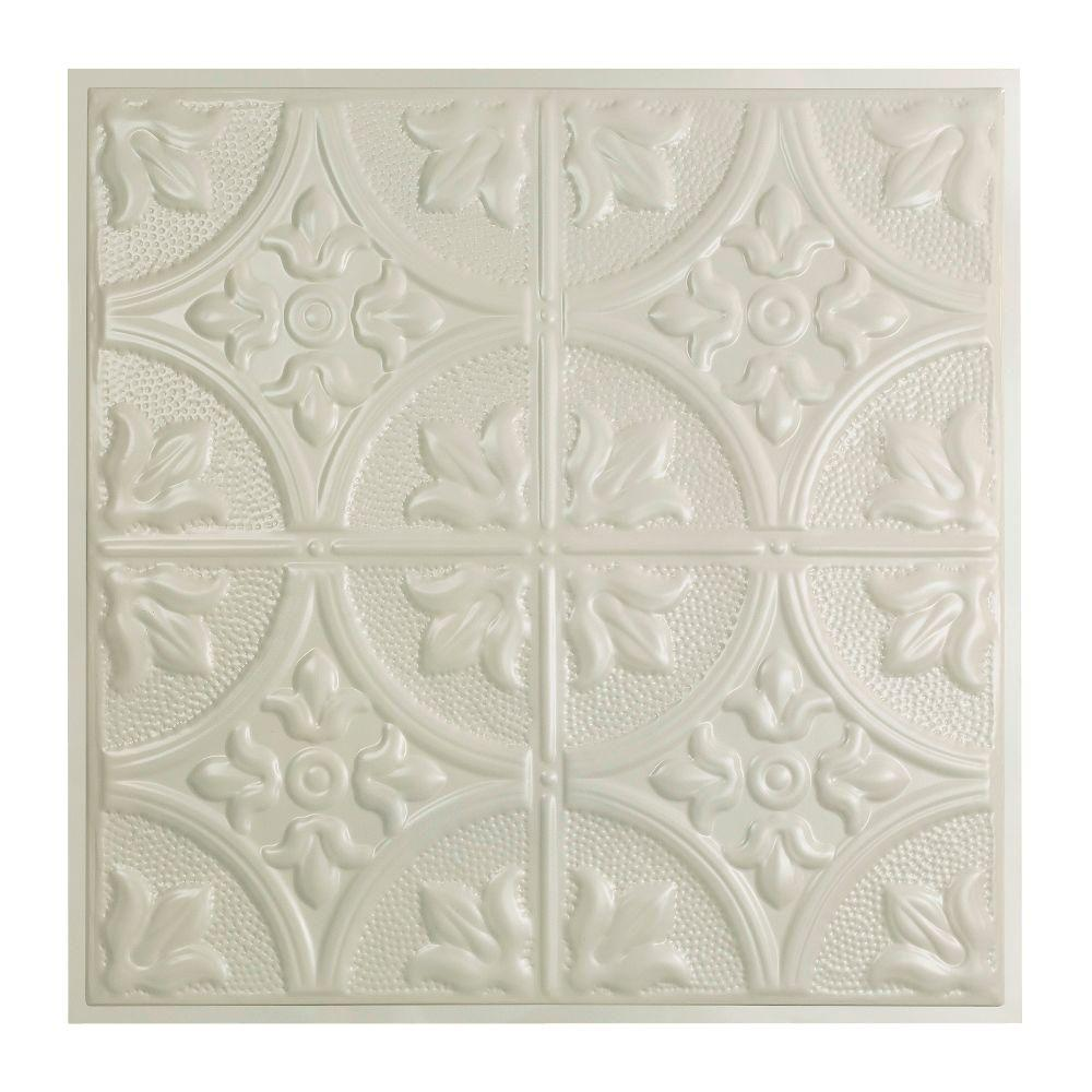 Jamestown 2 ft. x 2 ft. Lay-in Tin Ceiling Tile in