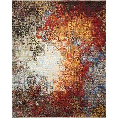 Chroma Ember Glow 5 ft. 6 in. x 8 ft. Area Rug