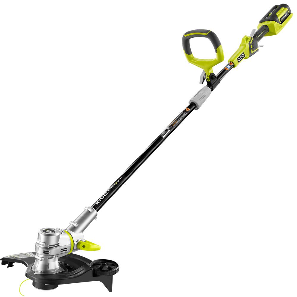 Ryobi Reconditioned 40-Volt Lithium-Ion Cordless String T...