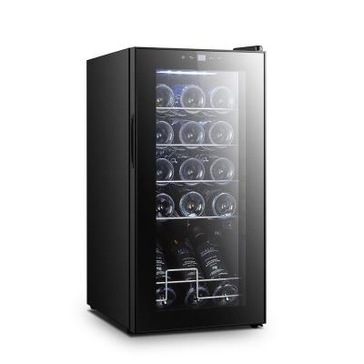 15-Bottle Wine Chilling Refrigerator Cellar Digital Touch Button Control with Air Tight Seal