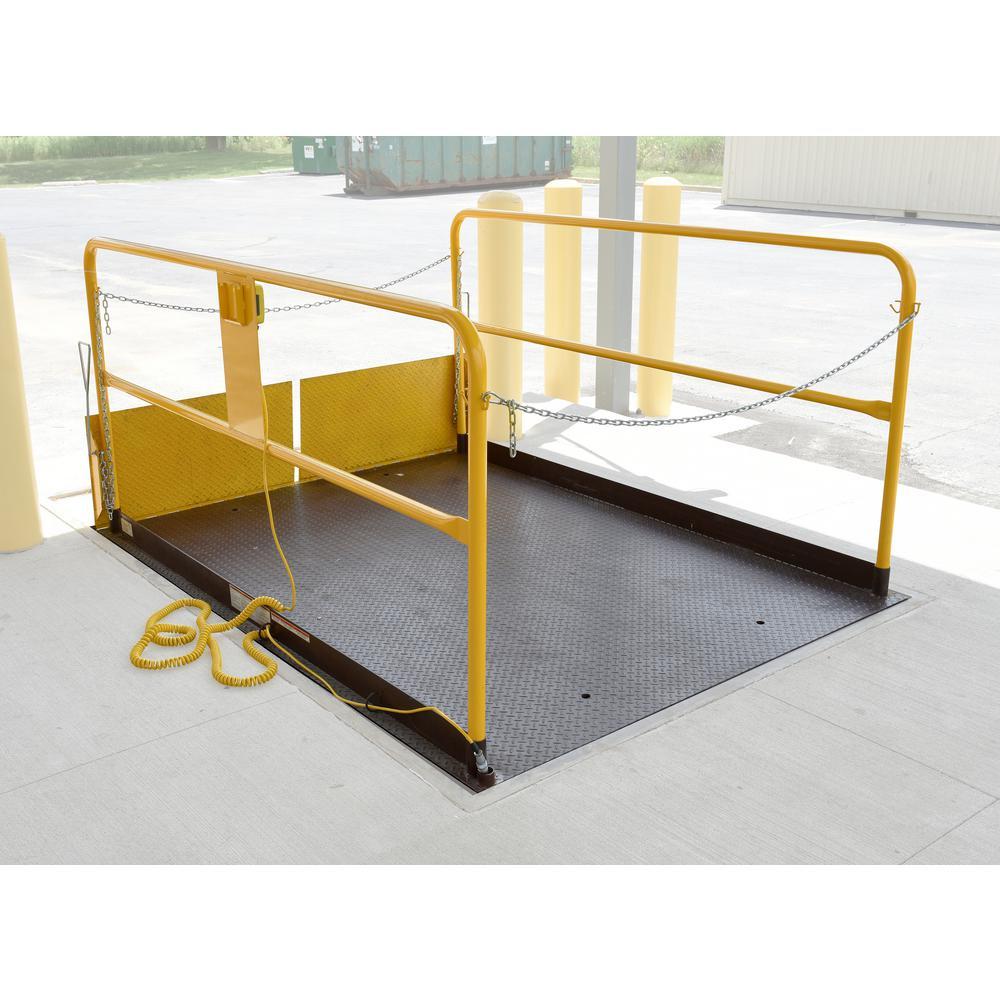 5,000 lbs. 6 ft. x 8 ft. Premium Truck Scissor Dock Lift
