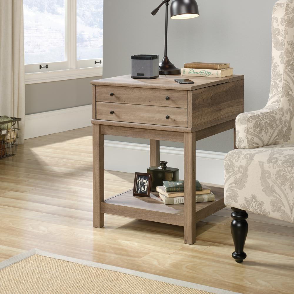 Sauder Barrister Lane Red End Side Table 420145 The Home