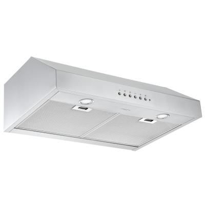 Ancona Bn636 36 In 620 Cfm Ducted Built In Range Hood With Led In Stainless Steel An 1324 The Home Depot