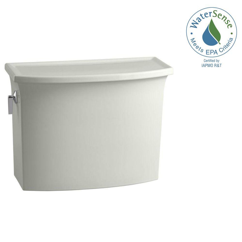 Archer 1.28 GPF Single Flush Toilet Tank Only in Dune