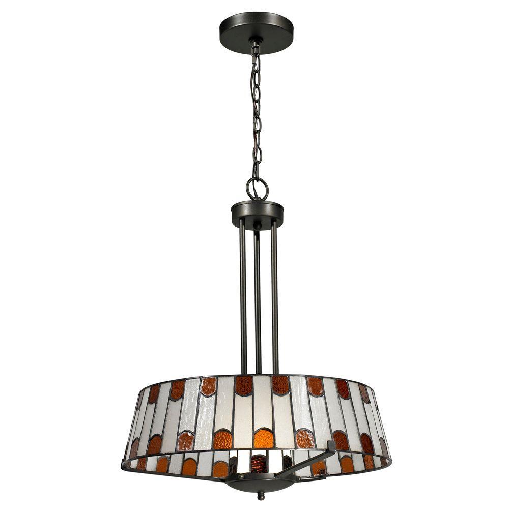 Wedgewood 1-Light Dark Bronze Pendant