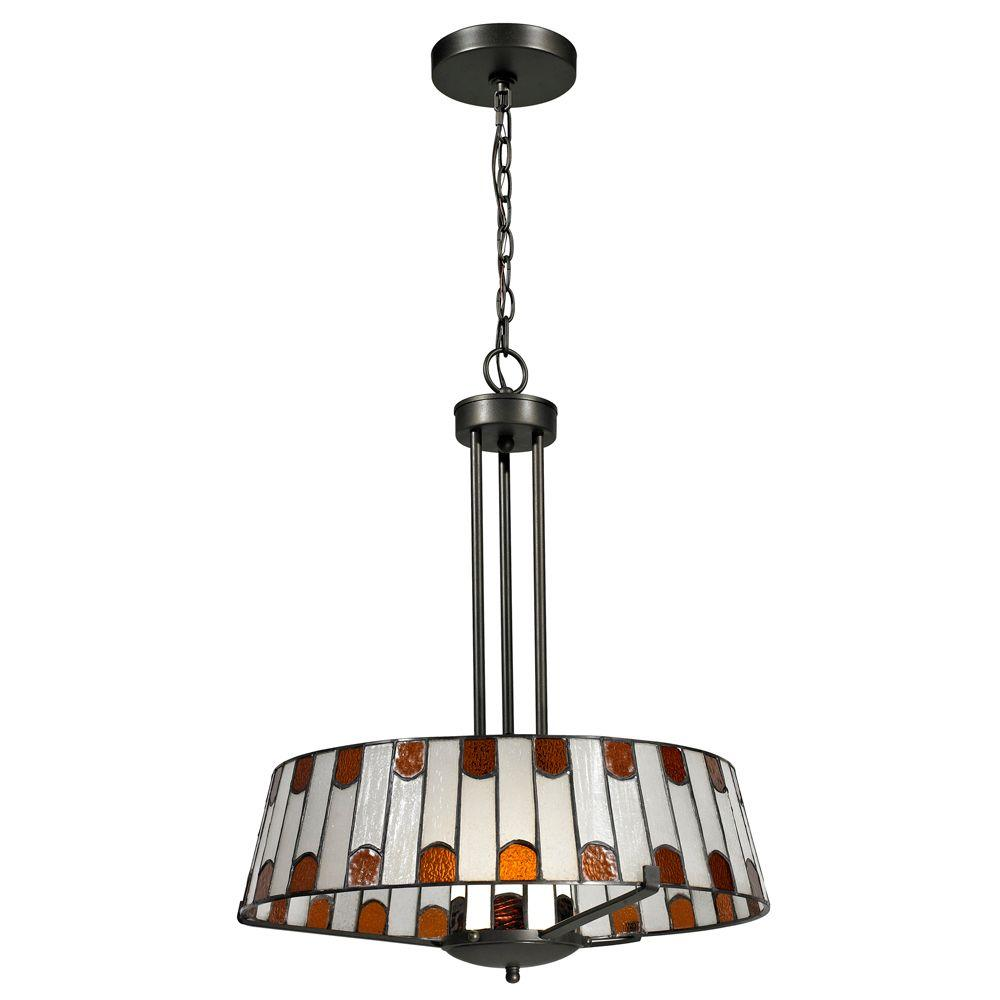 Wedgewood 1-Light Dark Bronze Pendant