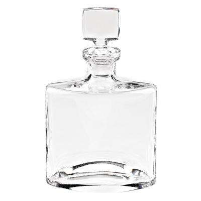11 in. High 32 oz. Whitney European Mouth Blown Lead Free Crystal Decanter