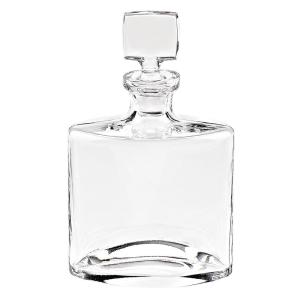11 inch High 32 oz. Whitney European Mouth Blown Lead Free Crystal Decanter by