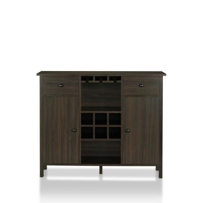 Maxen 6-Bottle Wine Cabinet Wenge