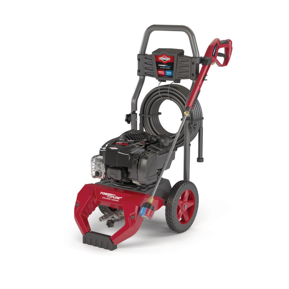 BRIGGS 2800 PSI 3.5 GPM Cold Water Gas Pressure Washer with Briggs and Stratton 725 EXI Engine and PowerFlow+ Technology