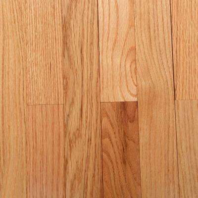 American Originals NaturalRed Oak 3/4 in. Thick x 2-1/4 in. Wide x Varying Length Solid Hardwood Flooring(20sq.ft./case)