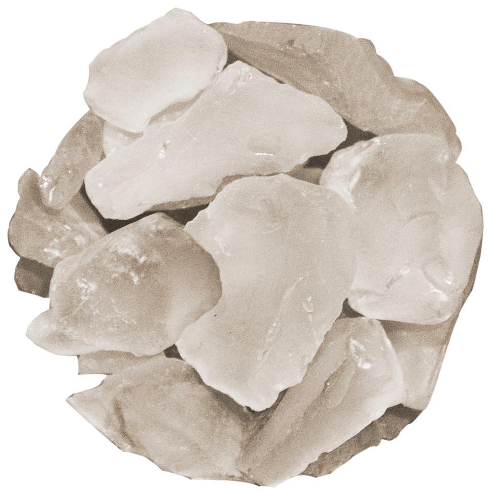 Shop Succulents Soft Glass Pebbles, White