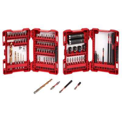 Shockwave Impact Duty Drill and Drive Bit Set (75-Piece)