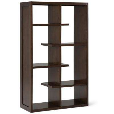 Camden Natural Aged Brown Bookcase