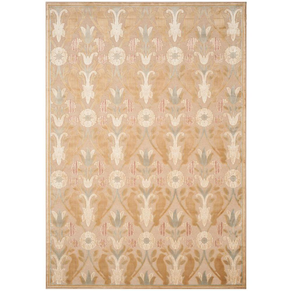 Paradise Beige 8 ft. x 11 ft. 2 in. Area Rug