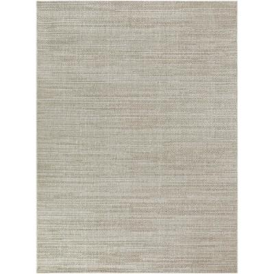 Woven Rope Cream 5 ft. x 7 ft. Indoor/Outdoor Area Rug