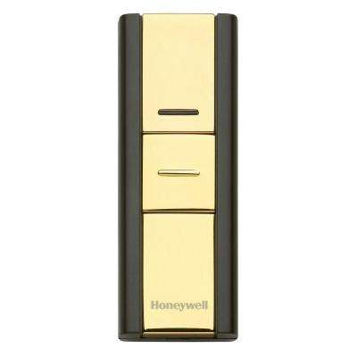 Add-on or Replacement Push Button Brass or Black, Compatible with 300 Series and Decor Door Chimes