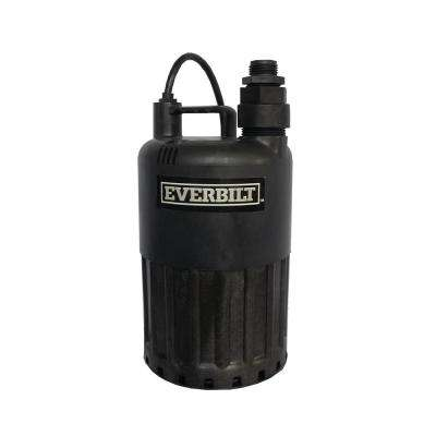 4/10 HP Waterfall Submersible Utility Pump