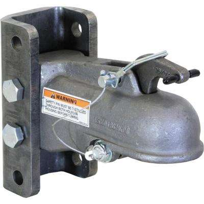 2-5/16 in. Channel Mount with 3-Position Fasteners Heavy Duty Cast Coupler