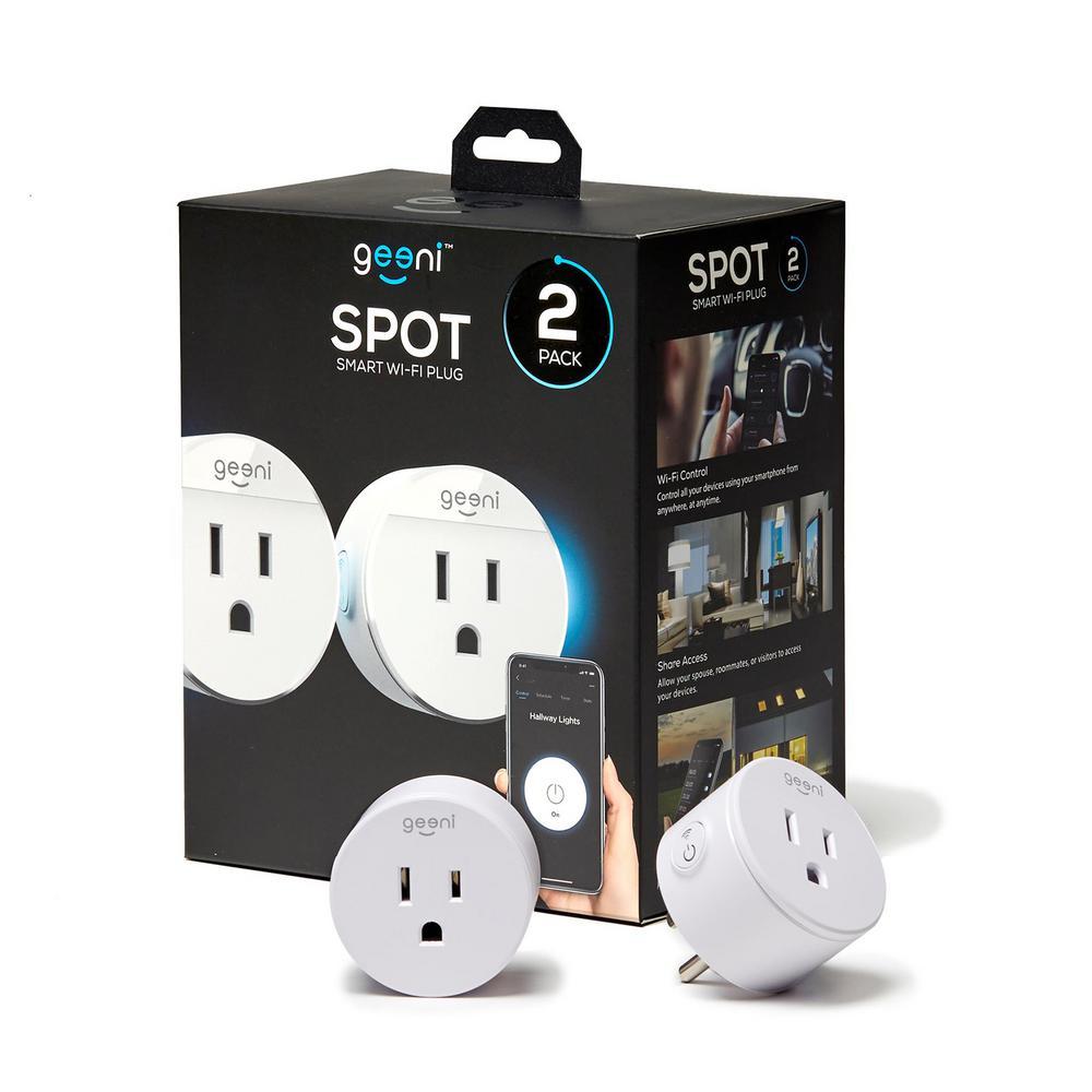 Spot Wi-Fi Smart Plug (2-Pack)