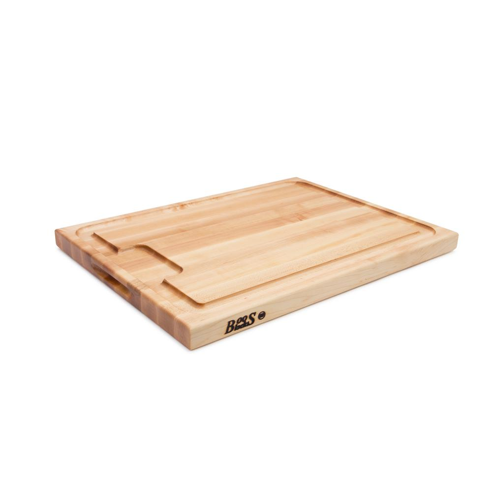 Block Board Home Depot ~ Boos block in wood maple