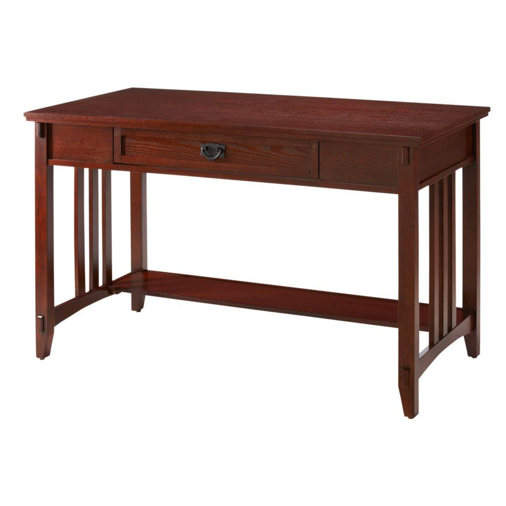 Home Decorators Collection Artisan Macintosh Oak Computer Writing Desk