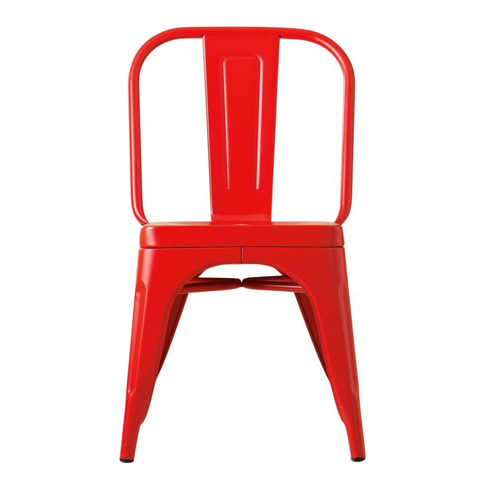Home Decorators Collection Garden Red Side Chair
