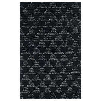 Evanesce Black 5 ft. x 8 ft. Area Rug