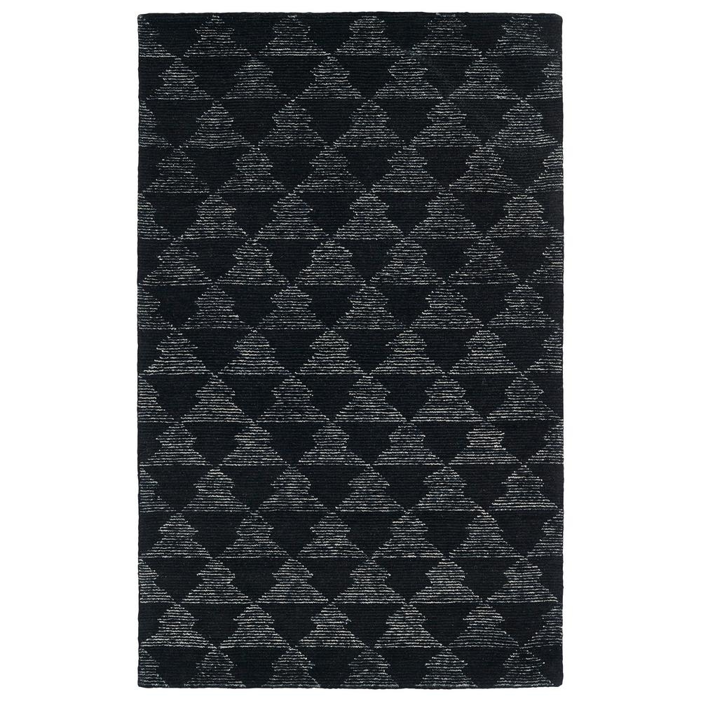 Evanesce Black 8 ft. x 10 ft. Area Rug