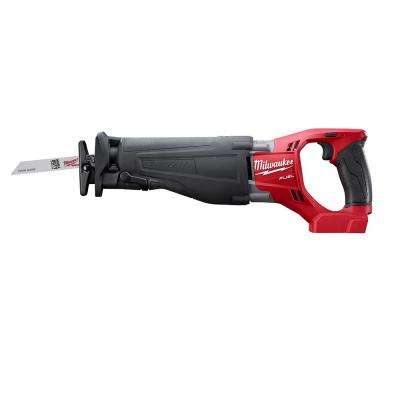 M18 FUEL 18-Volt Lithium-Ion Brushless Cordless SAWZALL Reciprocating Saw (Tool-Only)