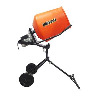 Kushlan 3.5 cu. ft. 3/4 HP 120-Volt Motor Direct Drive Moveable Pedestal Cement Mixer by Kushlan