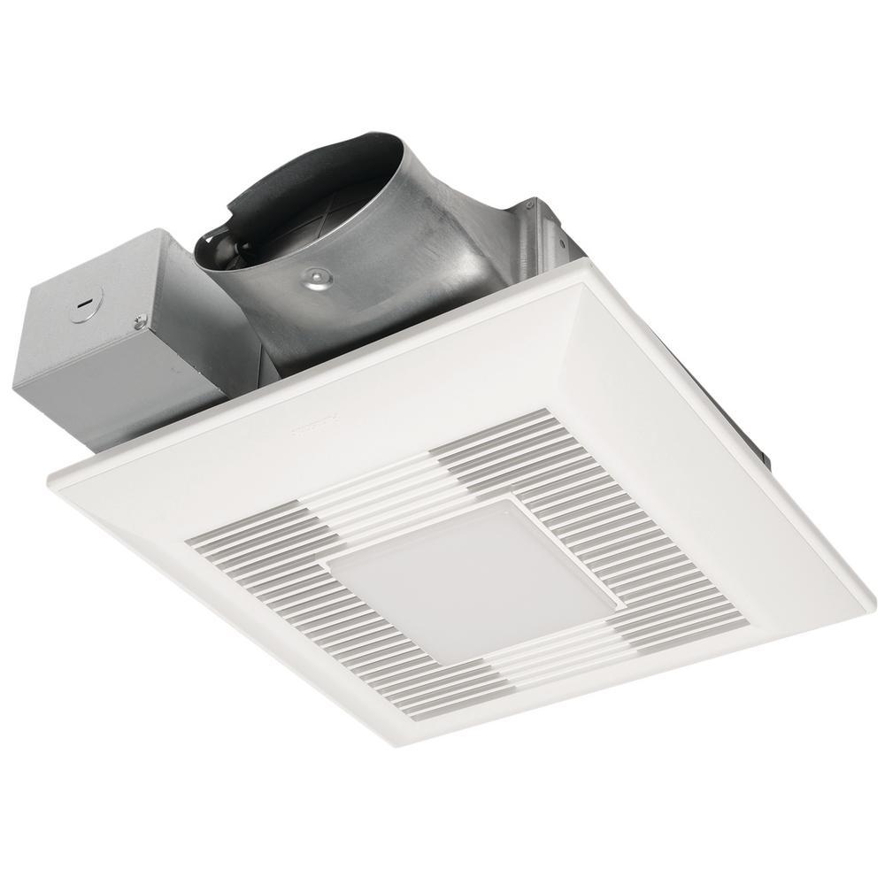 Panasonic Whispervalue Dc Exhaust Fan Led Light And Night Light Fv 0510vsl1 The Home Depot