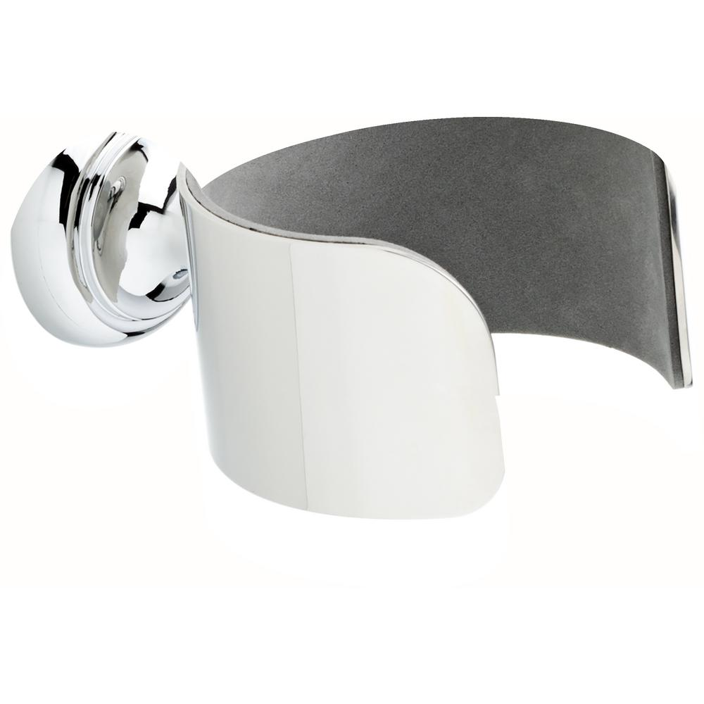 Delta Wall Mounted Hair Dryer Holder In Polished Chrome