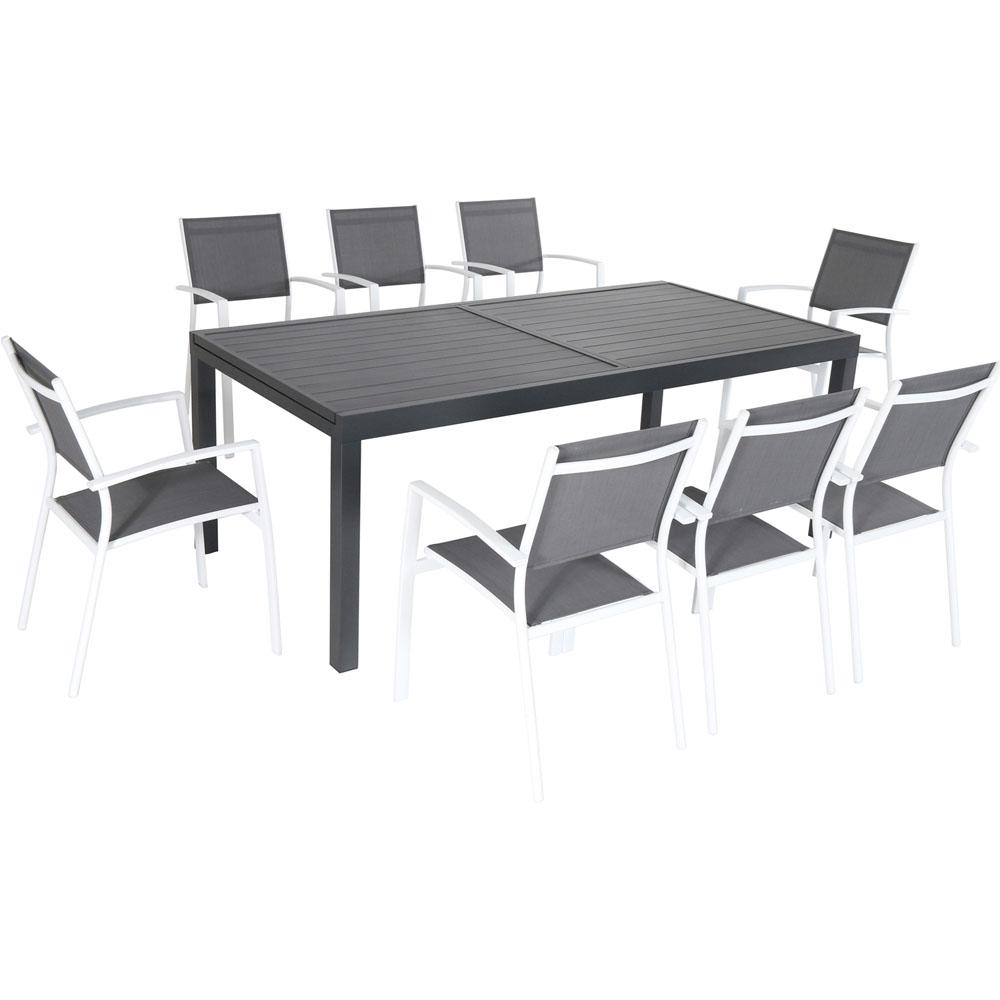 Fine Cambridge Nova 9 Piece Aluminum Outdoor Dining Set Cjindustries Chair Design For Home Cjindustriesco