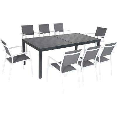 Nova 9-Piece Aluminum Outdoor Dining Set