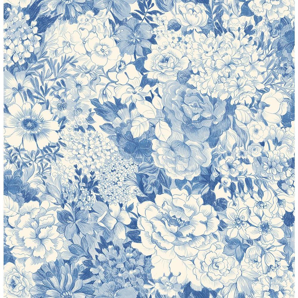 Brewster Dodge Blue Geometric Wallpaper-2686-21715 - The ...