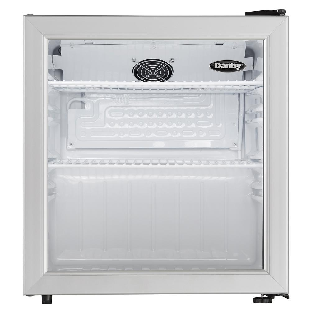 18 in W. 1.6 cu. ft. Glass Door Commercial Refrigerator in
