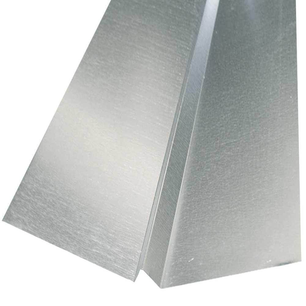 20 in  x 10 ft  Galvanized Steel W-Valley Flashing-01547