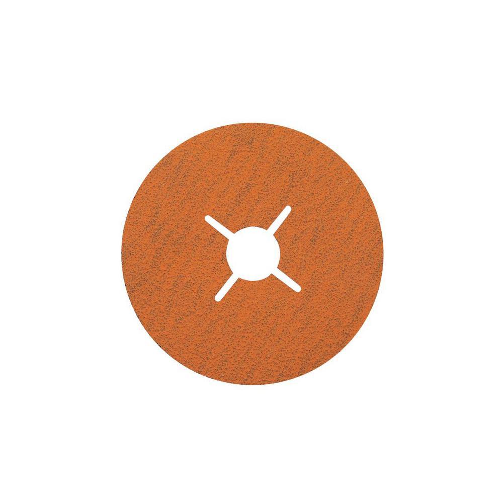 COOLCUT XX 4.5 in. x 7/8 in. Arbor GR120, Sanding Discs (Pack of 25)