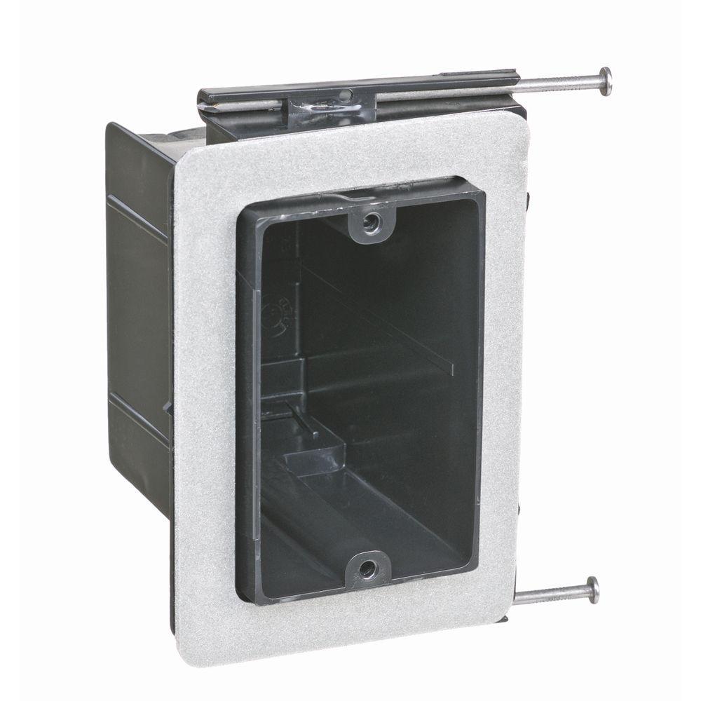 null 1-Gang 22-1/2 cu. in. Non-Metallic Vapor Tight Wall Box (Case of 50)