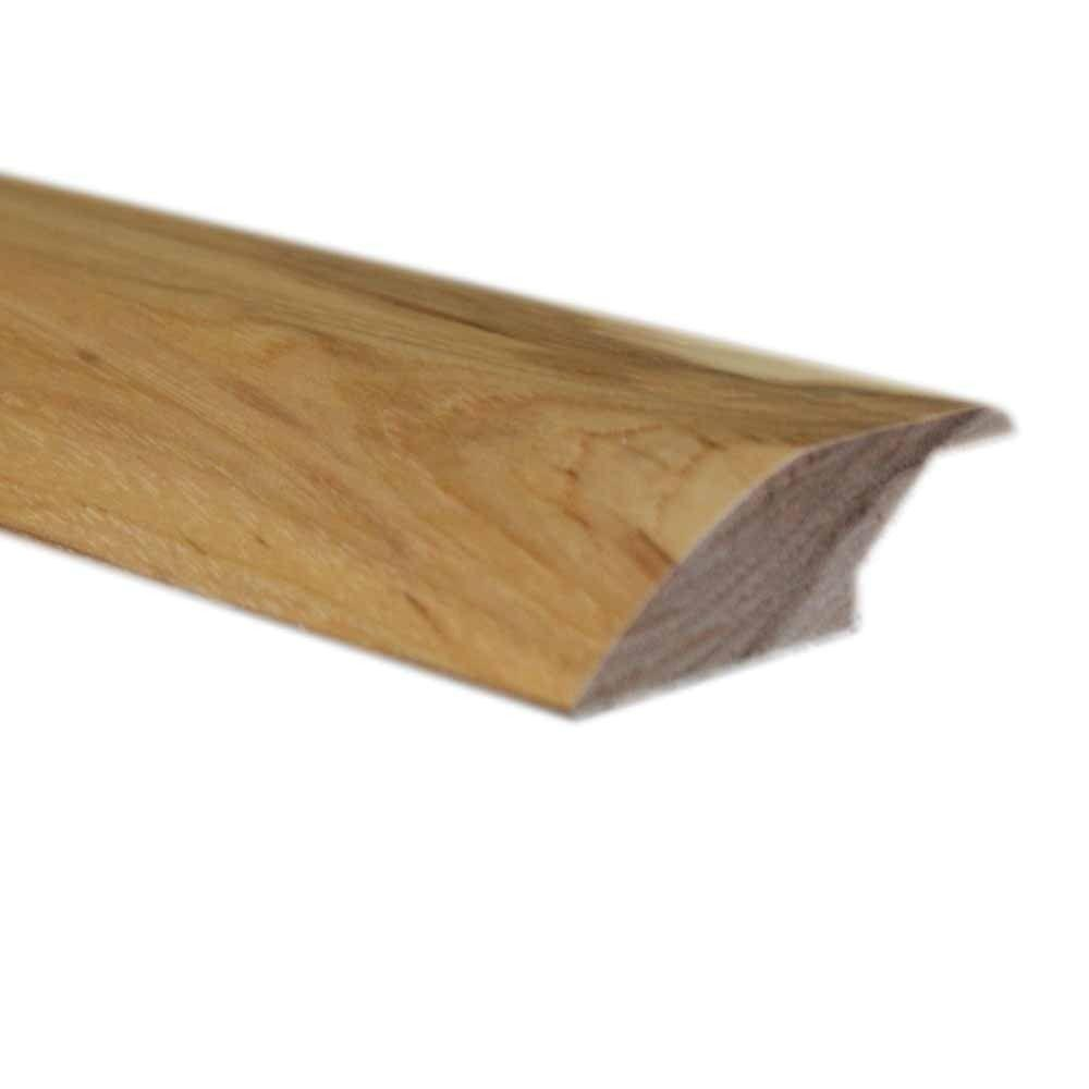 Millstead Unfinished Hickory 0.75 in. Thick x 2.25 in. Wide x 78 in. Length Lipover Reducer Molding