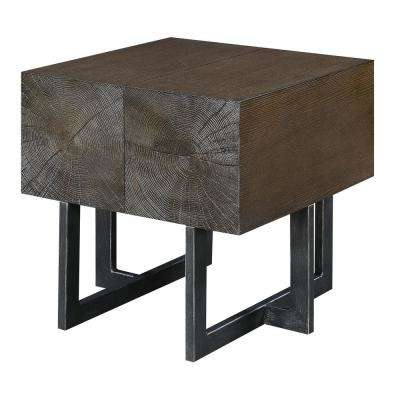 Elliot Cherry Square End Table